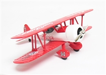 LIMITED EDITION COCA-COLA STEARMAN BI-PLANE BANK