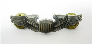 STERLING SILVER W.W. II U.S. AIR FORCE WINGS