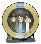 SET OF 3 COLLECTIBLE ELVIS PEZ DISPENSERS