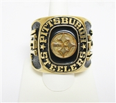 LARGE NFL PITTSBURGH STEELERS REPLICA TEAM NOVELTY RING/PAPERWEIGHT