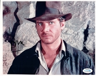 Harrison Ford Indiana Jones Autographed 8x10 Photo