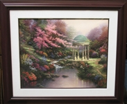 KINKADE *** POOLS OF SERENITY *** OFFSET LITHOGRAPH