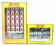 TWO RAIL KING MTH ELECTRIC TRAINS ACCESSORY BUILDINGS