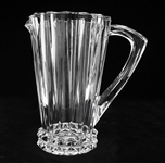 ROSENTHAL CRYSTAL BLOSSOM PITCHER