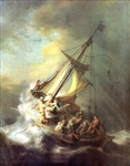 REMBRANDT ** CHRIST IN THE STORM **