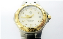TAG HEUER MENS 18K AND STAINLESS KIRIUM WATCH