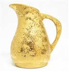 22K WEEPING GOLD PITCHER
