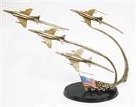 "FRANKLIN MINT ""FLIGHT OF REMEMBRANCE"" BRONZE"