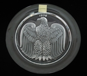 LALIQUE BICENTENNIAL CRYSTAL PLATE