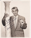 GEORGE BURNS HAND SIGNED PHOTOGRAPH