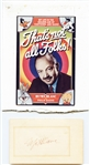MEL BLANC HAND SIGNED CARD