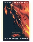 XXX MOVIE POSTER HAND SIGNED BY CAST WITH COA