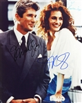 JULIA ROBERTS AND RICHARD GERE HAND SIGNED 8X10 PHOTO WITH COA