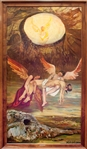 MANOR SHADIAN ** RESURRECTION ** ORIGINAL OIL ON CANVAS