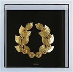 IOANNIS BARDIS **THE CROWN OF HERA** ORIGINAL GOLD-PLATED SCULPTURE
