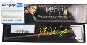 Daniel Radcliffe Autographed Harry Potter Magic Wand Collectible