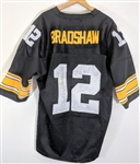 TERRY BRADSHAW HALL OF FAME STEELERS QUARTERBACK SIGNED JERSEY