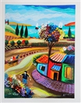 ALTER ** MORNING IN THE COUNTRY ** SIGNED SERIGRAPH