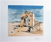 DALI ** PANORAMIC VILLAGE ** OFFSET LITHOGRAPH