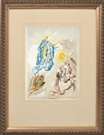 DALI ** THE APOTHEOSIS OF VIRGIN MARY ** WOODCUT