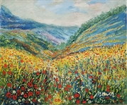 MANOR SHADIAN ** MOUNTAINS AGED IN BEAUTY **ORIGINAL OIL ON CANVAS