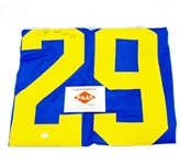 SIGNED ERIC DICKERSON HALL OF FAME 99 JERSEY WITH COA