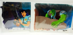 LOT OF 2 SAVAGE DRAGON ANIMATION CELS