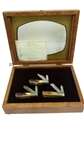 CASE XX LIMITED EDITION STAG BARLOW 3 KNIFE SET IN DISPLAY