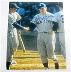 HAND SIGNED MICKEY MANTLE 8X10