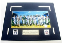 HAND SIGNED 500 HOME RUN CLUB 8x10 WITH 11 SIGNATURES, GFA