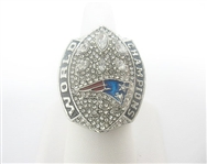 2018 NEW ENGLAND PATRIOTS TOM BRADY REPLICA SUPER BOWL RING