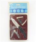 NEW 2005 WINCHESTER ERSATZ MOTHER OF PEARL KNIFE SET