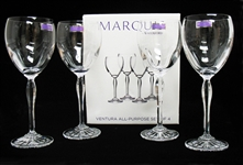SET OF 4 WATERFORD GLASSES