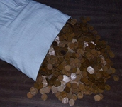 GIANT BULK LOT OF 5000+ OLDTIME LINCOLN WHEAT CENTS