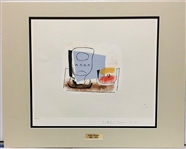 PICASSO *STILL LIFE WITH GLASS* COLLECTORS LITHOGRAPH MATTED
