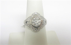 PLATINUM DIAMOND RING 2.43 C.T.W.