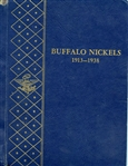 WHITMAN ALBUM COLLECTION OF BUFFALO NICKELS 1913-1938