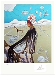 DALI EARTH GODDESS UNFRAMED SIGNED LITHOGRAPH