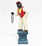 CAST IRON LAWN JOCKEY