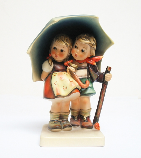 "HUMMEL FIGURINE ""STORMY WEATHER"""