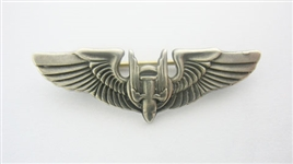 WORLD WAR II STERLING SILVER BOMBARDIER WINGS