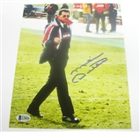 "HAND SIGNED MIKE DITKA ""THE FINGER"" 8X10"