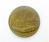 RARE 1893 COLUMBIAN EXPO TOKEN