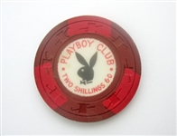RARE PLAYBOY OF LONDON POKER CHIP