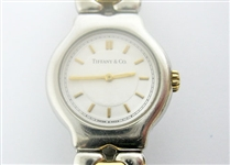 TIFFANY & CO. LADIES 18K AND STAINLESS TESORO WATCH