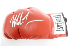 HAND SIGNED MIKE TYSON BOXING GLOVE