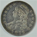 VERY SCARCE HIGH GRADED 1818/7 CAPPED BUST HALF DOLLAR (O-101a; LARGE DATE)
