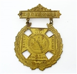 1898 CIVIL WAR GRAND ARMY OF THE REPUBLIC ENCAMPMENT MEDAL