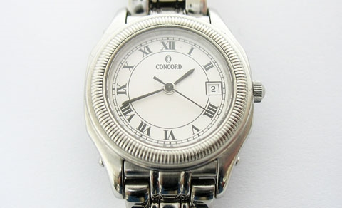 CONCORD LADIES STEEPLECHASE STAINLESS WATCH
