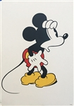 VINTAGE DISNEY POSTER *** MICKEY MOUSE